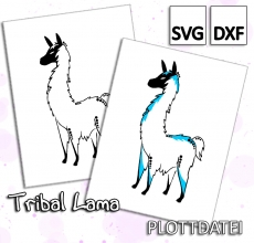 Tribal Lama - Plottdatei