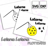 Freebie Laterne - Plottdatei