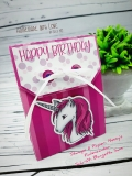 Fiona 2.0 - Unicorn, Alicorn, Pegasus - Pink - DigiStamp Set