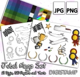 Jubel Mega Set - DigiStamp Set