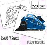 Cool Train - Plottdatei