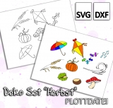 Deko Set Herbst - Plottdatei