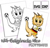 WM-Babydrache Nico - Plottdatei