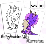 Babydrache Lilly - Plottdatei